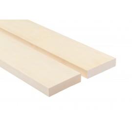 Profil ławkowy SHP 28x120mm Osika biała - 4 sztuki