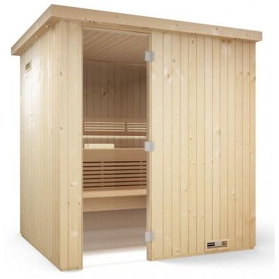 Sauna Tylö Harmony 2435x2180