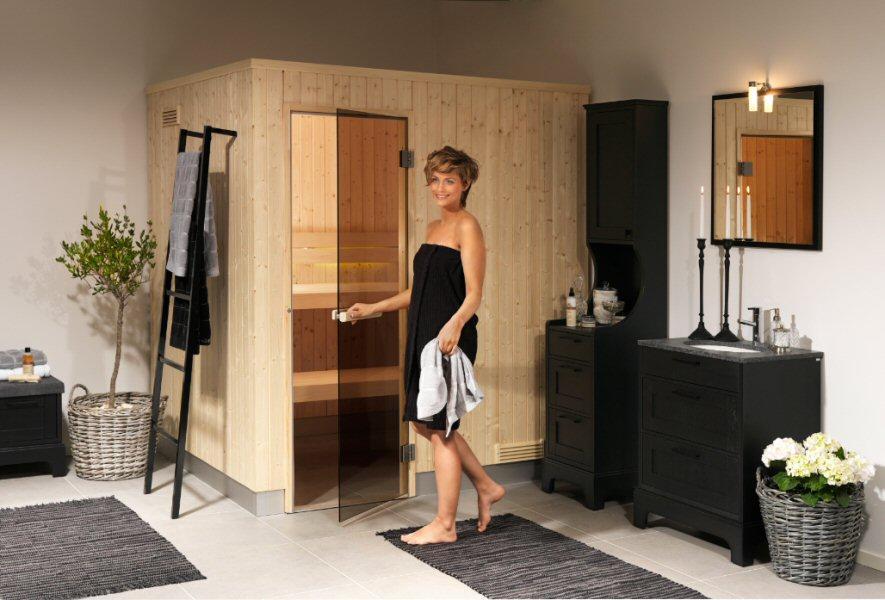 sauna domowa