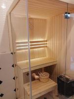 sauna na wymiar mala