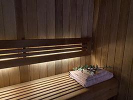 wnętrze sauny na wymiar nr 2