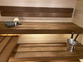 wnętrze sauny na wymiar nr 3