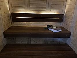 wnętrze sauny na wymiar nr 4