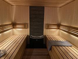 wnętrze sauny na wymiar nr 5