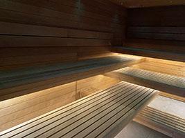 wnętrze sauny na wymiar nr 8